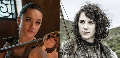 Interview de Keisha Castle-Hughes et Ellie Kendrick (Game of Thrones)